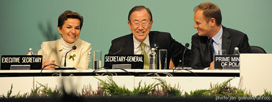 UNFCCC meeting at Warsaw--photo courtesy of the UNFCCC